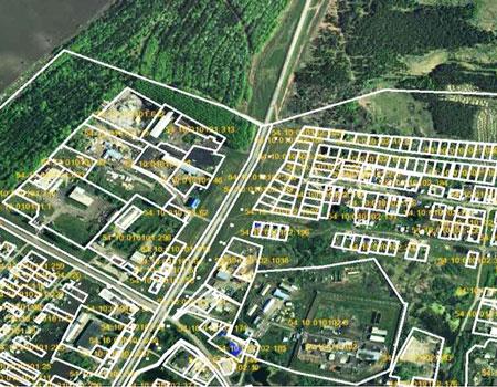 росреестр кадастровый план территории пример