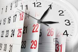 Календарь: срок годности ГПЗУ и изготовления в Москве и Московской области