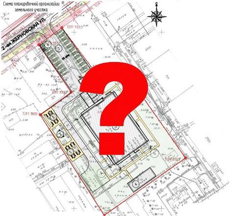 Что отображается на СПОЗУ? схема организации земельного участка